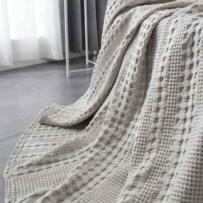 北欧尚品全棉盖毯